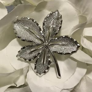 Estate Sarah Coventry Maple Leaf Brooch